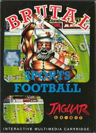 Box cover for Brutal Sports Football on the Atari Jaguar.