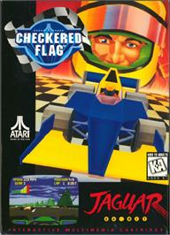 Box cover for Checkered Flag on the Atari Jaguar.