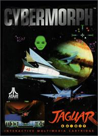 Box cover for Cybermorph on the Atari Jaguar.