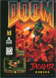 Box cover for Doom on the Atari Jaguar.