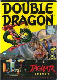 Box cover for Double Dragon V: The Shadow Falls on the Atari Jaguar.