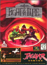 Box cover for Fight For Life on the Atari Jaguar.