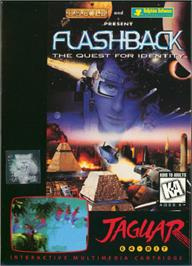 Box cover for Flashback on the Atari Jaguar.