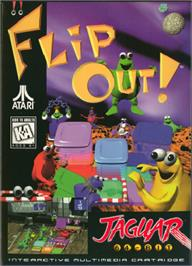 Box cover for FlipOut on the Atari Jaguar.