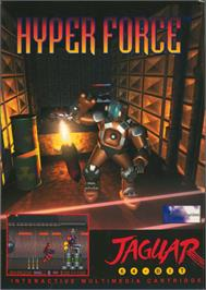 Box cover for Hyper Force on the Atari Jaguar.
