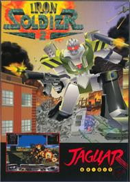 Box cover for Iron Soldier 2 on the Atari Jaguar.