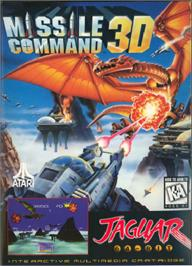 Box cover for Missile Command 3D on the Atari Jaguar.