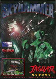 Box cover for Skyhammer on the Atari Jaguar.