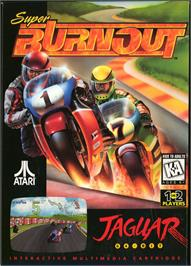 Box cover for Super Burnout on the Atari Jaguar.