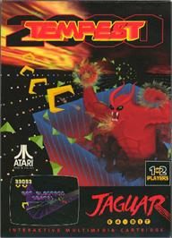 Box cover for Tempest 2000 on the Atari Jaguar.