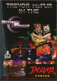 Box cover for Trevor McFur In The Crescent Galaxy on the Atari Jaguar.