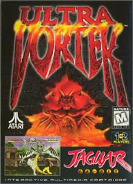 Box cover for Ultra Vortek (Beta) on the Atari Jaguar.