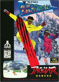 Box cover for Val d'Isère Skiing and Snowboarding on the Atari Jaguar.