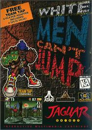 Box cover for White Men Can't Jump on the Atari Jaguar.