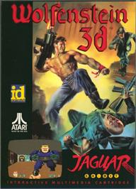 Box cover for Wolfenstein 3D on the Atari Jaguar.