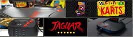 Arcade Cabinet Marquee for Atari Karts.
