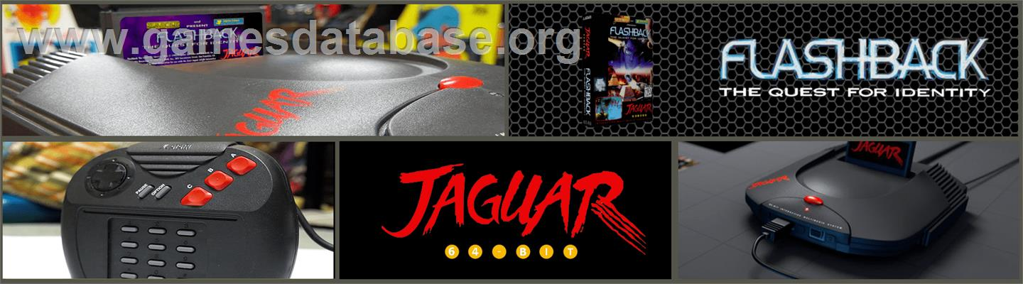 Flashback - Atari Jaguar - Artwork - Marquee