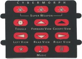 Overlay for Cybermorph on the Atari Jaguar.