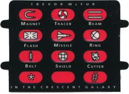 Overlay for Trevor McFur In The Crescent Galaxy on the Atari Jaguar.