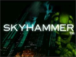 Title screen of Skyhammer on the Atari Jaguar.