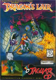 Box cover for Dragon's Lair on the Atari Jaguar CD.