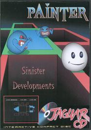 Box cover for Painter on the Atari Jaguar CD.
