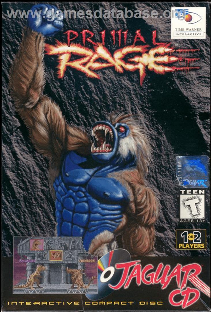 Primal Rage - Atari Jaguar CD