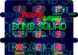 Overlay for JagMIND Bomb Squad on the Atari Jaguar CD.