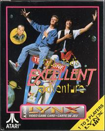 Box cover for Bill & Ted's Excellent Adventure on the Atari Lynx.