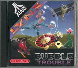 Box cover for Bubble Trouble on the Atari Lynx.