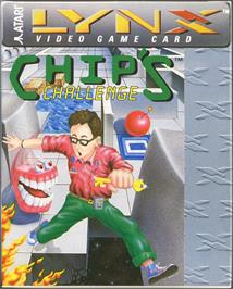 Box cover for Chip's Challenge on the Atari Lynx.
