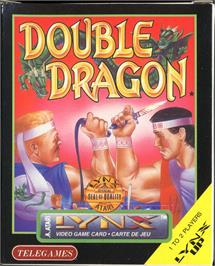 Box cover for Double Dragon on the Atari Lynx.