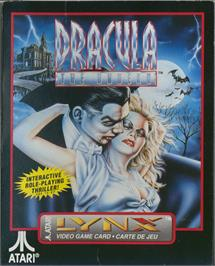 Box cover for Dracula the Undead on the Atari Lynx.