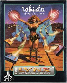 Box cover for Ishido: The Way of Stones on the Atari Lynx.