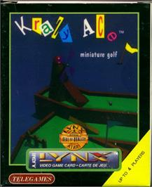 Box cover for Krazy Ace Miniature Golf on the Atari Lynx.