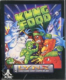 Box cover for Kung Food on the Atari Lynx.