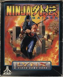 Box cover for Ninja Gaiden on the Atari Lynx.