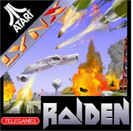 Box cover for Raiden on the Atari Lynx.