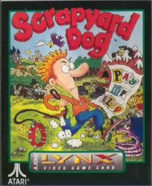 Box cover for Scrapyard Dog on the Atari Lynx.