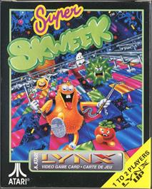 Box cover for Super Skweek on the Atari Lynx.
