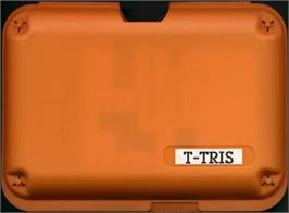 Box cover for T-Tris on the Atari Lynx.