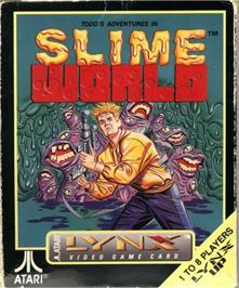 Box cover for Todd's Adventures in Slime World on the Atari Lynx.