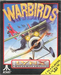 Box cover for Warbirds on the Atari Lynx.
