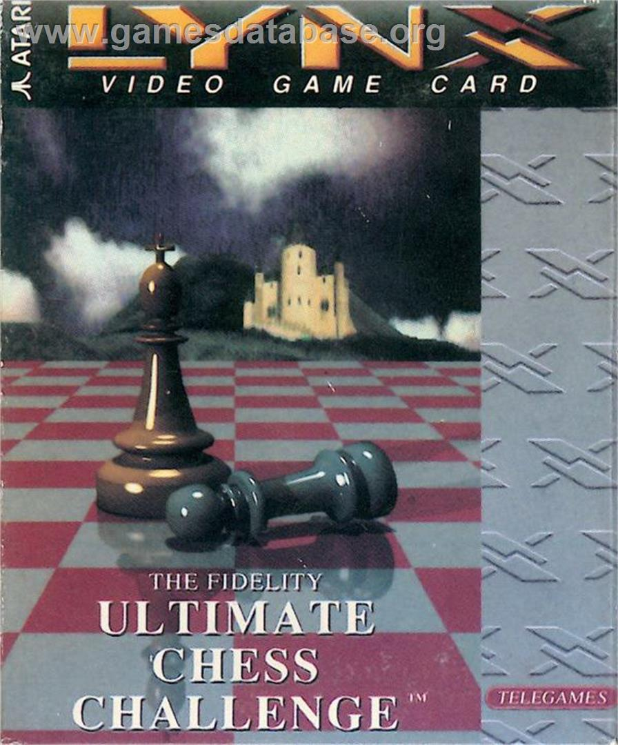 The Fidelity Ultimate Chess Challenge - Atari Lynx - Artwork - Box