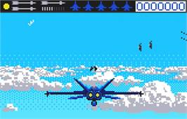 In game image of Blue Lightning on the Atari Lynx.