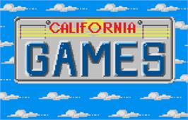 In game image of California Games on the Atari Lynx.