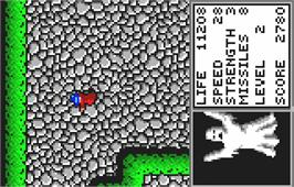 In game image of Gauntlet: The Third Encounter on the Atari Lynx.