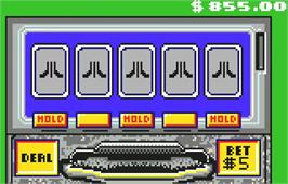 In game image of Lynx Casino on the Atari Lynx.