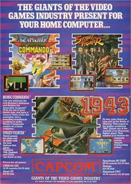 Advert for 1943: The Battle of Midway on the Atari ST.