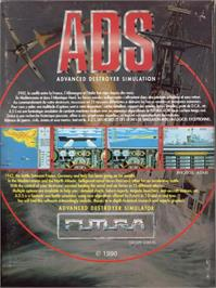 Advert for Advanced Destroyer Simulator on the Commodore Amiga.